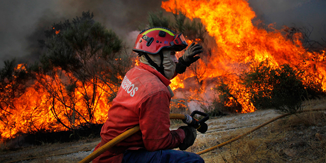 Incendies de forêt : Dégâts record au Portugal