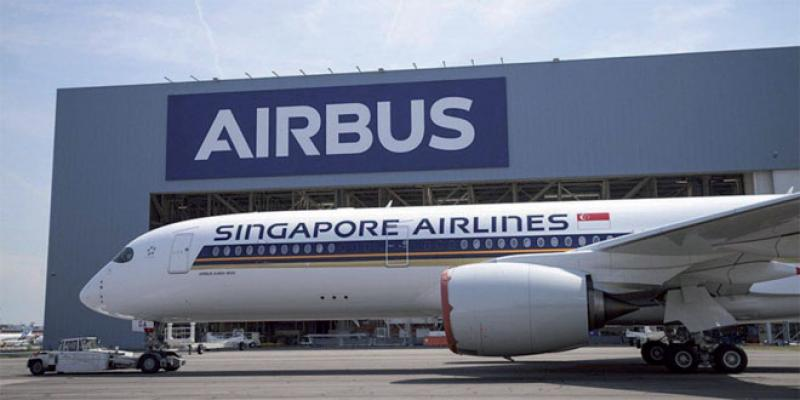 Airbus: L'A350-900 rejoint Singapore Airlines