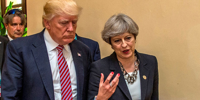 Explosion de Londres : Trump met May en colère