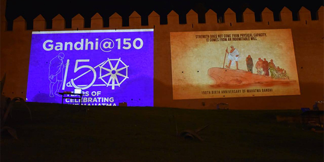Le Maroc rend hommage à Ghandi