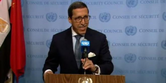 Omar Hilale s'entretient avec des responsables onusiens et chefs d'agences humanitaires
