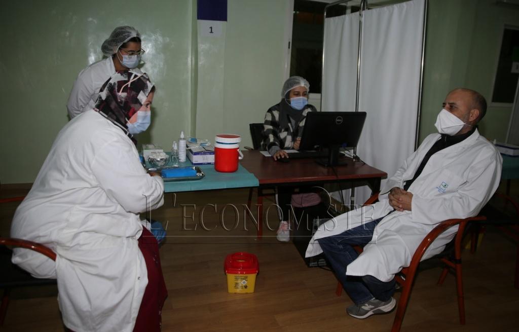 Casablanca: Le personnel de santé du privé reçoit la 2ème dose du vaccin