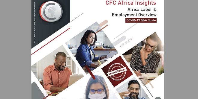 Covid19: CFC publie un guide pratique pour les employeurs en Afrique
