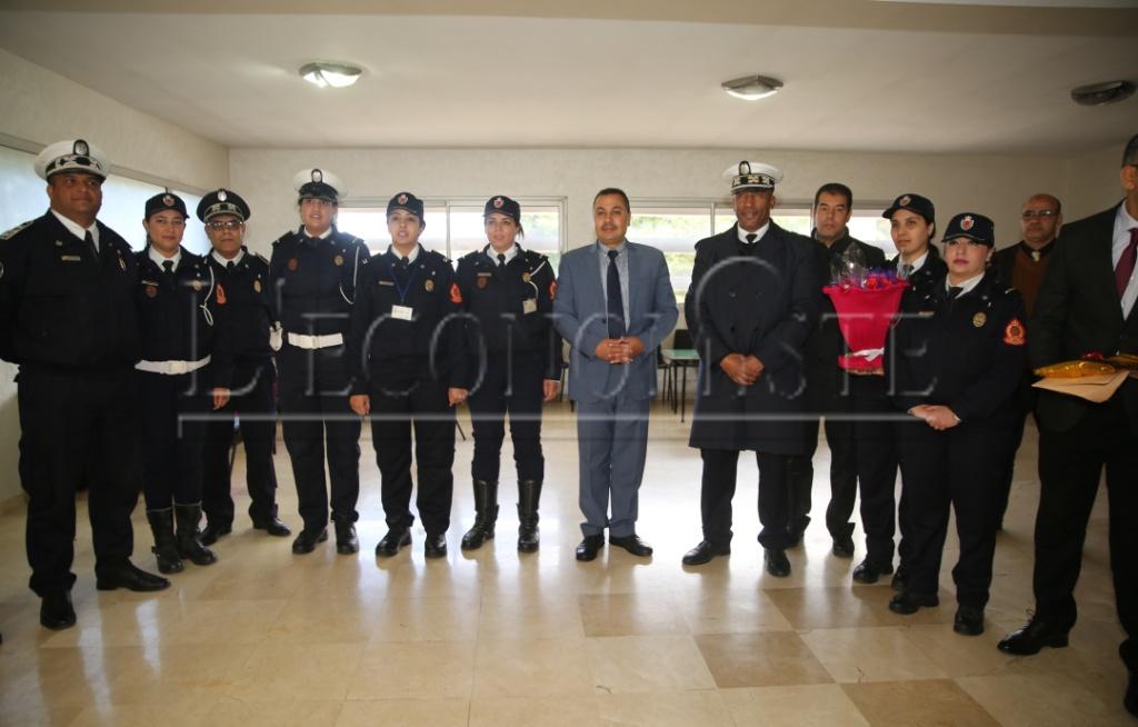 Les policières d'El Jadida honorées durant le 8 mars