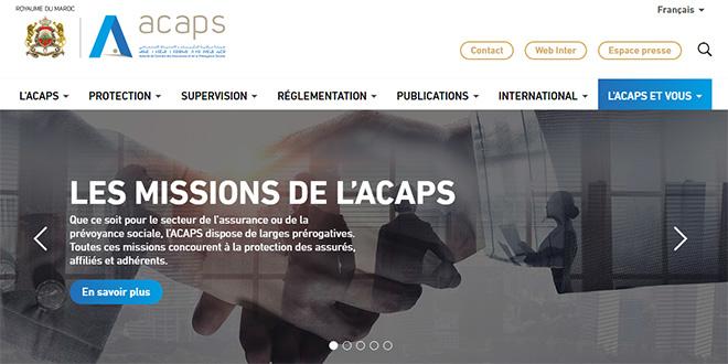 L'ACAPS lance son nouveau site web