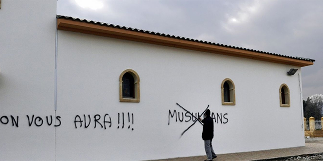 France: Forte hausse des faits racistes et xénophobes