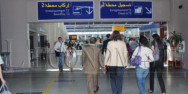 Aéroports du Maroc : plus de 2 millions de passagers