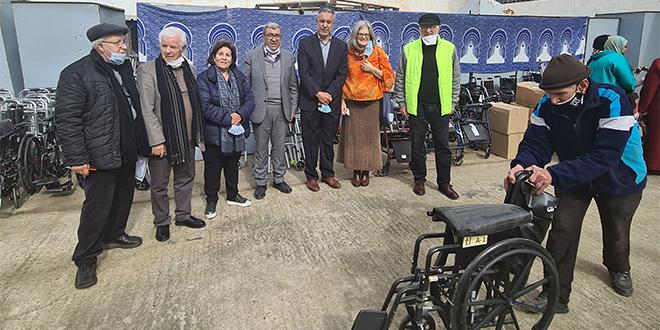 L'association Fès-Saïss au chevet des personnes à mobilité réduite