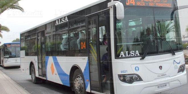 Les bus ne circulent pas aujourd'hui à Rabat