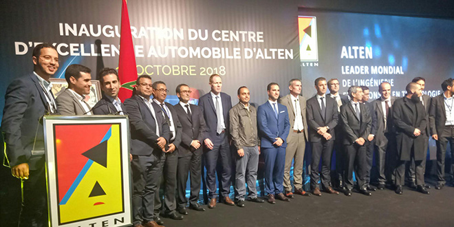 Alten inaugure son centre à Technopolis à Rabat