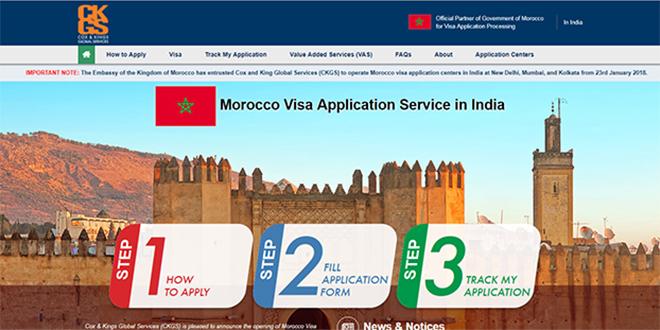 Inde : Lancement de centres de demande de visas pour le Maroc