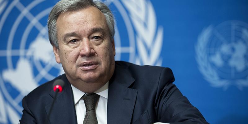 Antonio Guterres nommé pour un second mandat à la tête de l'ONU