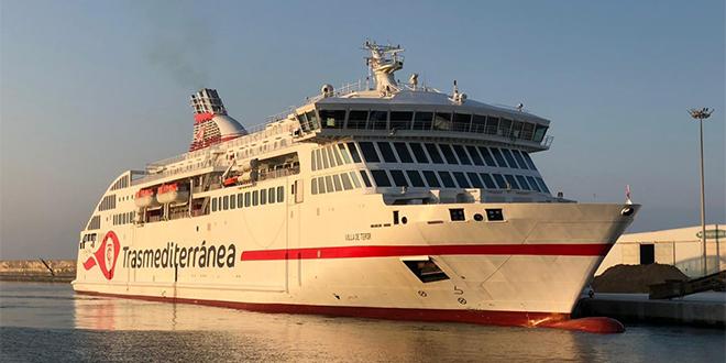 Opération Marhaba : Trasmediterránea lance un nouveau ferry
