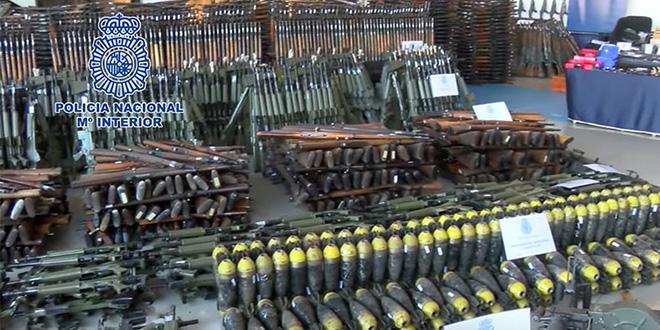 Espagne: saisie de plus de 60 armes à feu dans une maison abandonnée