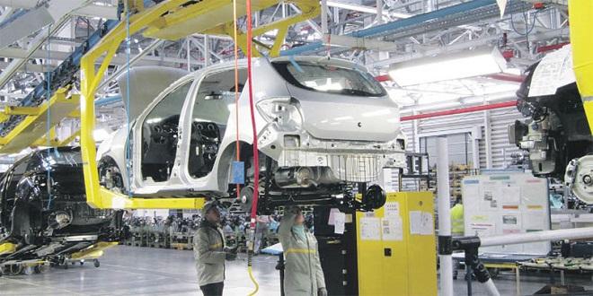 Automobile: Les exportations en repli de 9,9% en 2020