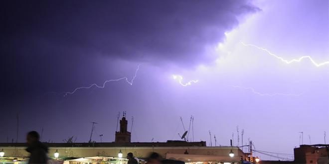 Alerte météo: Averses orageuses localement fortes ce vendredi