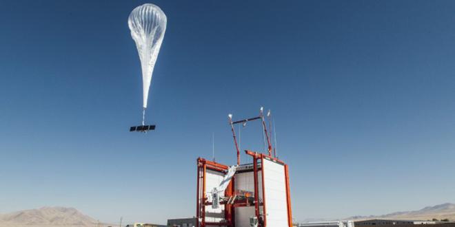 Les premiers ballons-transmetteurs d'internet de Google débarquent au Kenya