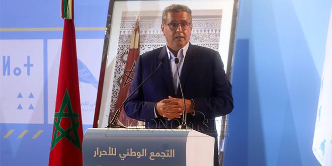 """Akhannouch: """"Notre programme constituera la base des négociations avec les partis"""""""