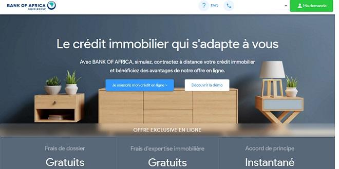 Crédit immo: BOA lance sa plateforme digitale