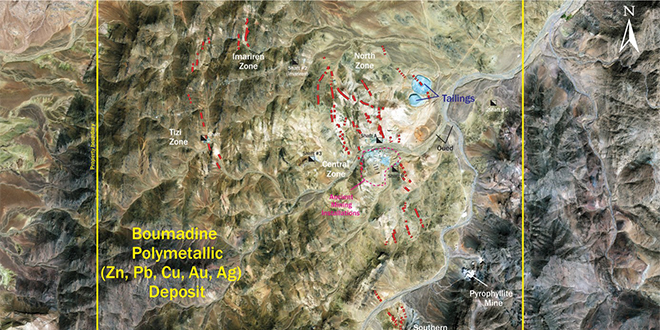 Maya Gold cherche à financer la mine de Boumadine