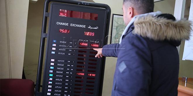 AGR table sur une appréciation du dirham face au dollar