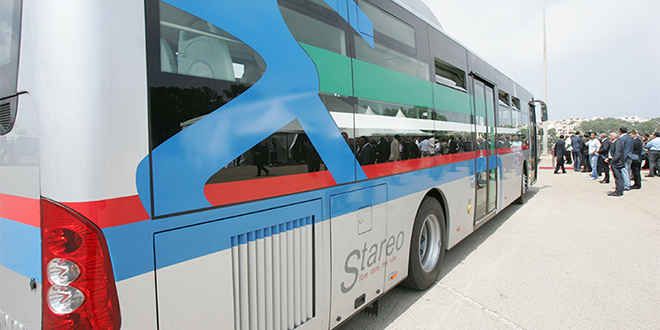 Grève des bus à Rabat