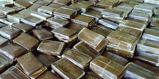 Saisie d'une tonne de cannabis en provenance du Maroc