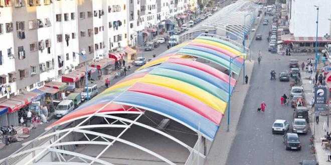 Larache: recasement de plus de 210 marchands ambulants