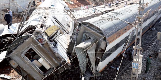 Catastrophe ferroviaire: Le drame en images