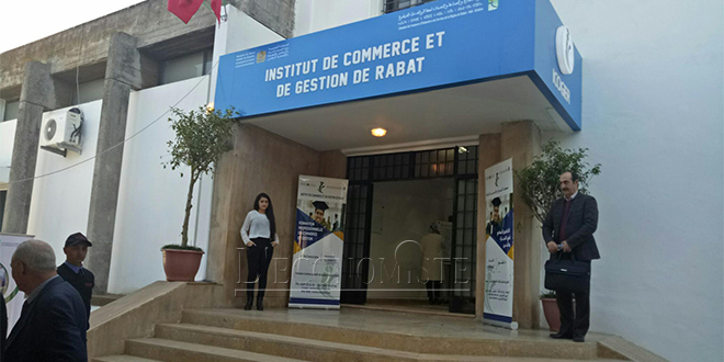 Inauguration de l'Institut de formation de la CCIS de Rabat