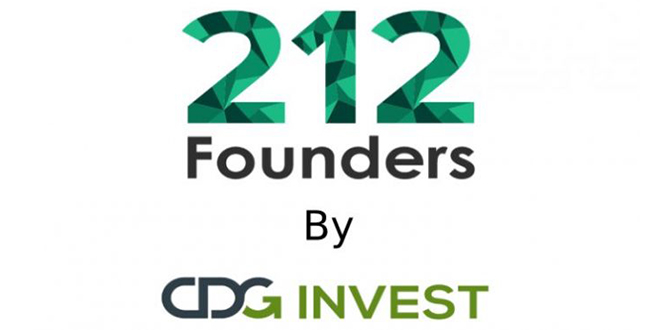 "CDG Invest lance ""212 Founders"""
