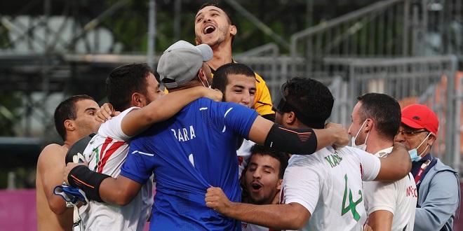 Jeux paralympiques/ cécifoot: Le Maroc remporte le bronze