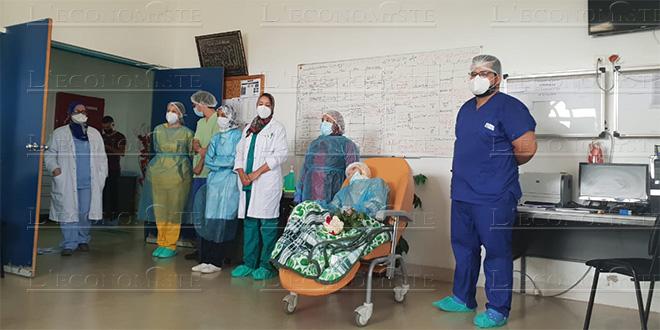"""Fès : Une patiente """"centenaire"""" guérie du Coronavirus"""