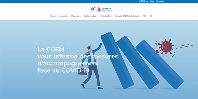 Covid19/ Accompagnement des entreprises: La CGEM crée un portail
