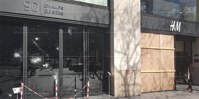 """""""Gilets jaunes"""": manifestation interdite samedi sur les Champs-Elysées"""