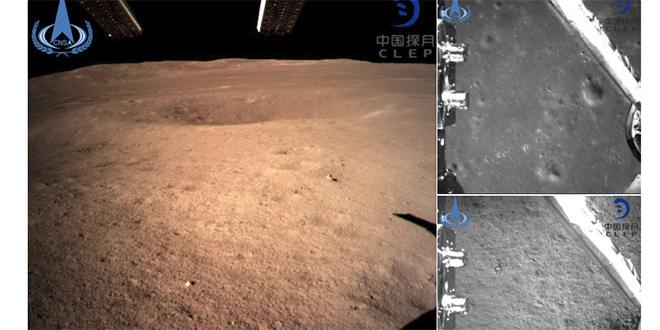 La Chine découvre la face cachée de la Lune