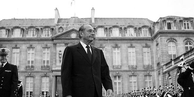 Décès de Jacques Chirac: l'Elysée annonce une journée de deuil national
