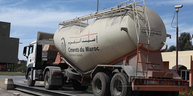 Ciments du Maroc: Titre à conserver