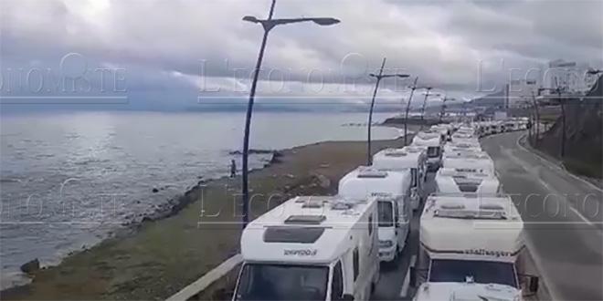 Sebta : Campings car bloqués à la frontière