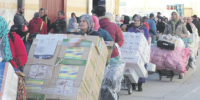 Fnideq: Nouvel appui les femmes impactées par l'arrêt de la contrebande