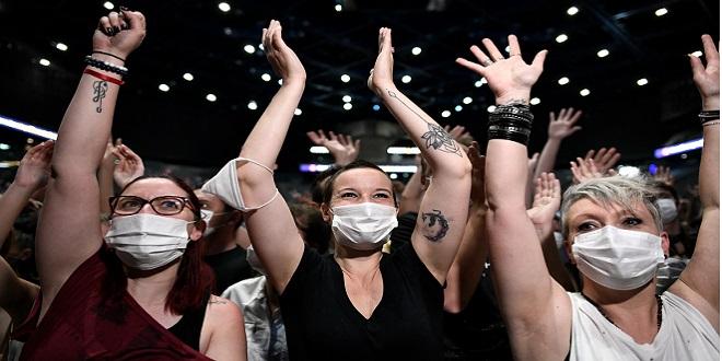 France/Covid: 5000 spectateurs pour un concert-test à Paris