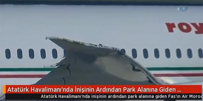 VIDEO/ Un avion de RAM percute un appareil de Turkish Airlines
