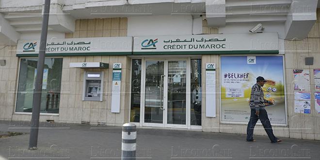 Crédit du Maroc: Le RNPG en baisse de 62,6%