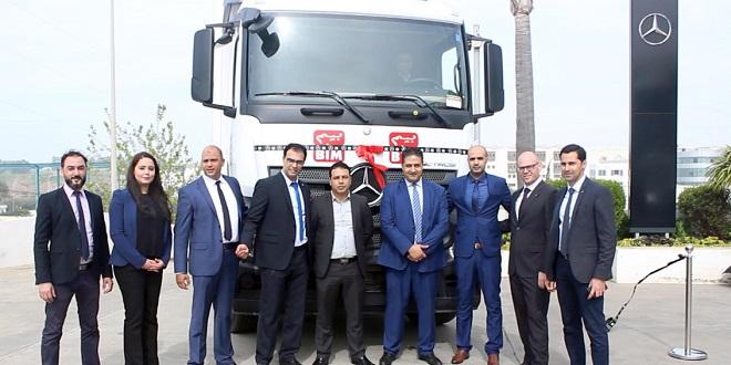 Logistique : Mercedes-Benz Trucks Maroc équipe BIM