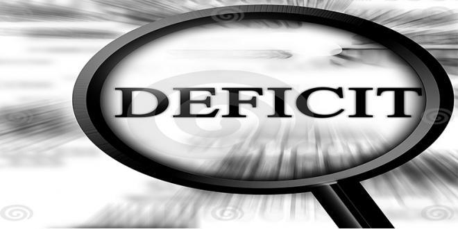 Le déficit budgétaire à 7,6% du PIB
