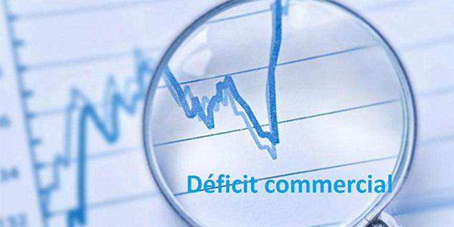 Accroissement du déficit commercial de 2,3%