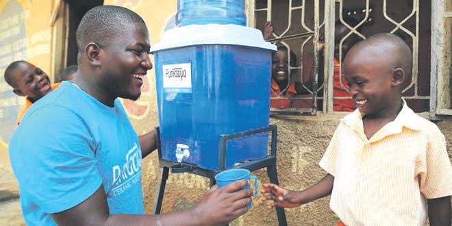 De l'eau potable grâce à un filtre en céramique