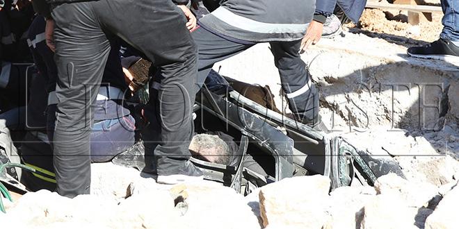 Drame: effondrement à d'un toit à Mers Sultan