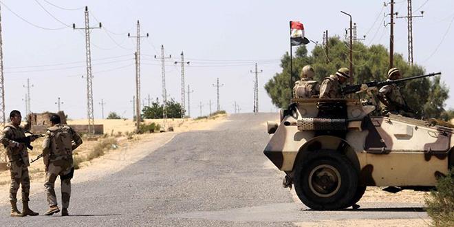"""Egypte: 15 """"terroristes"""" neutralisés au Sinaï"""
