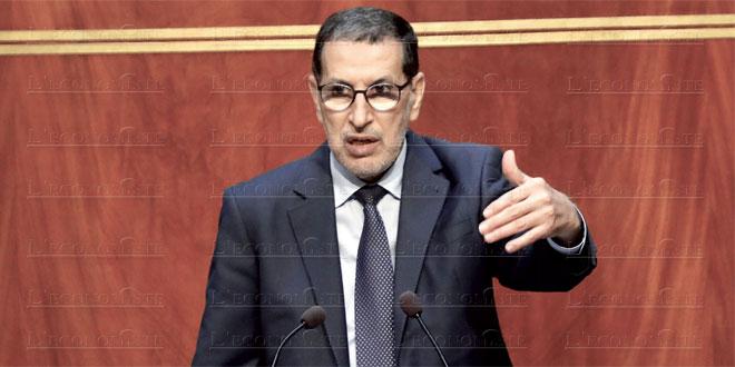 """El Othmani: """"Le reconfinement, une option si la situation devient incontrôlable"""""""